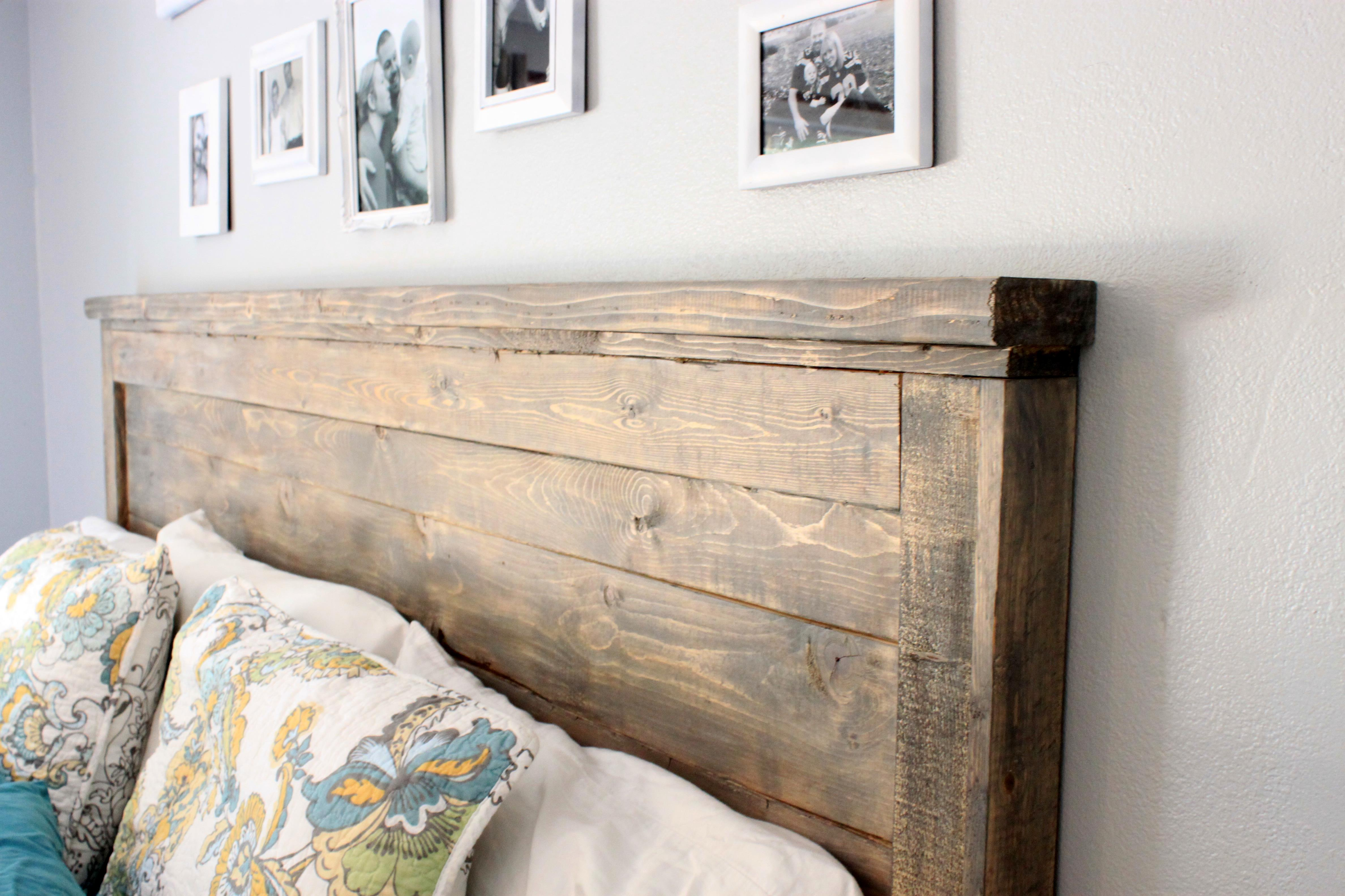 Image Result For Weathered Wooden Headboard