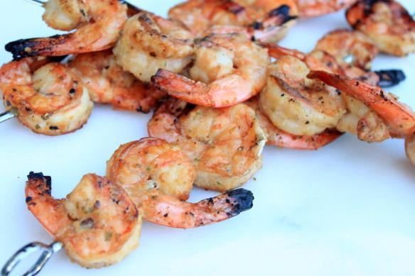 ginger soy lime shrimp