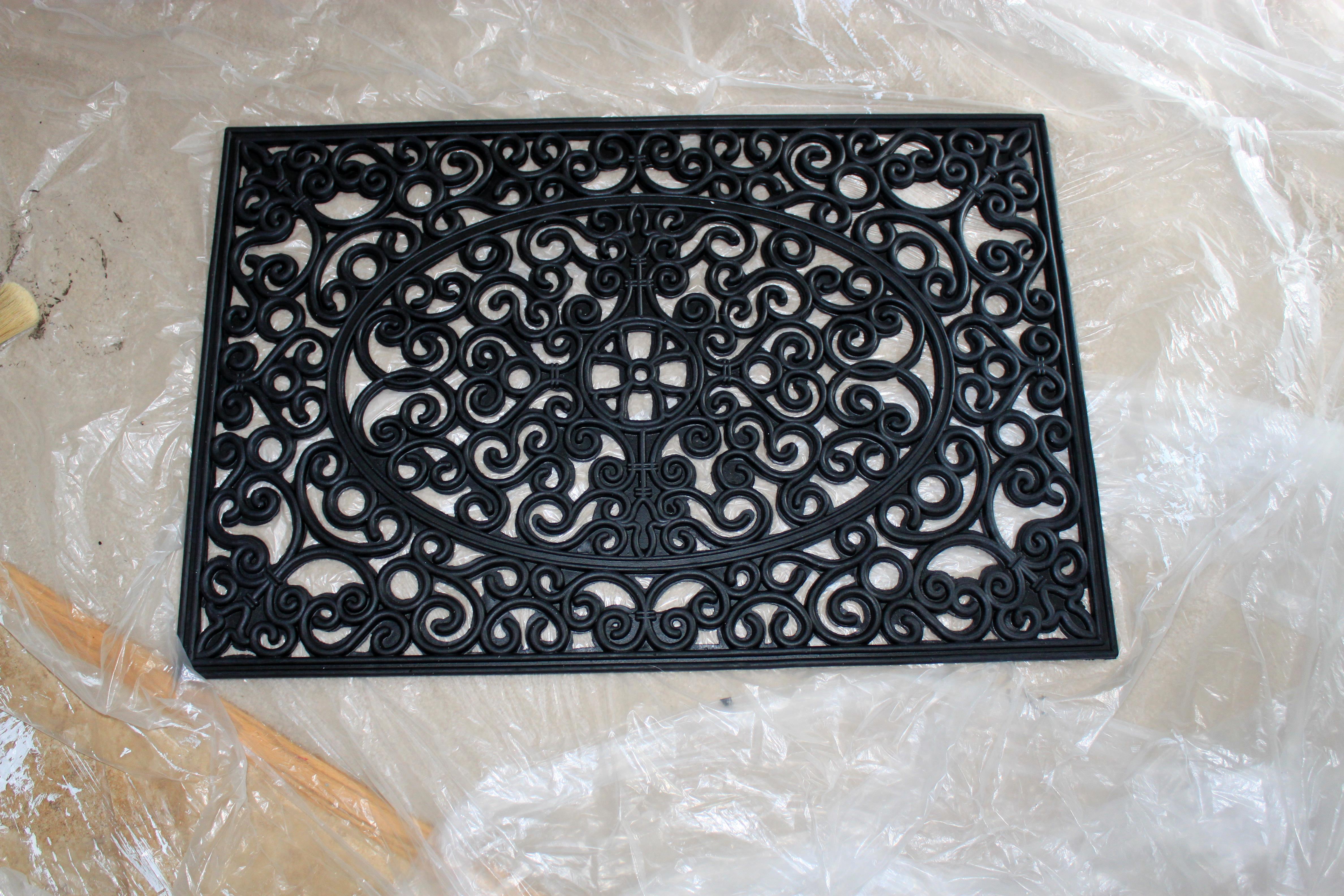 Black Rod Iron Wall Decor Faux Wrought Iron Wall Decor  Just Like Playing House