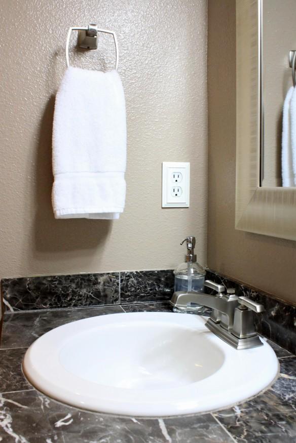 master bathroom vanity makeover
