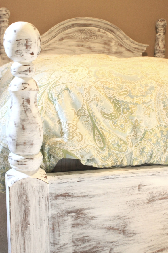upcycled queen bed