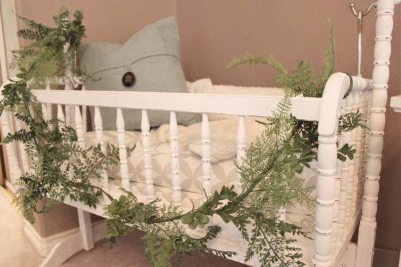vintage baby cradle