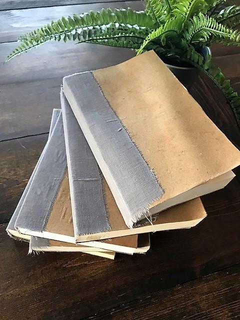 DIY Vintage Books